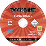 Rock Band Song Pack 2 PS3 disc (BLES00451)