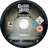 Guitar Hero: Metallica PS3 disc (BLES00479)