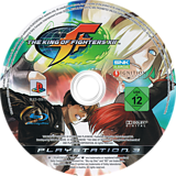 The King of Fighters XII PS3 disc (BLES00610)