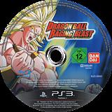 Dragon Ball: Raging Blast PS3 disc (BLES00693)