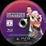 Karaoke Revolution PS3 disc (BLES00694)