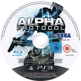 Alpha Protocol PS3 disc (BLES00704)