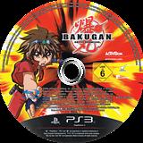 Bakugan Battle Brawlers PS3 disc (BLES00758)