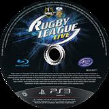 Rugby League Live PS3 disc (BLES00777)
