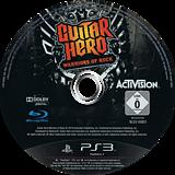 Guitar Hero: Warriors of Rock PS3 disc (BLES00801)