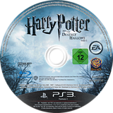Harry Potter y Las Reliquias de la Muerte: Parte 1 PS3 disc (BLES00931)
