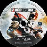 BackBreaker PS3 disc (BLES00944)