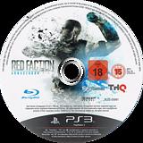 Red Faction Armageddon PS3 disc (BLES00991)