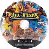 WWE All Stars PS3 disc (BLES00995)
