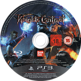 Knights Contract PS3 disc (BLES01001)