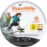 Shaun White Skateboarding PS3 disc (BLES01003)
