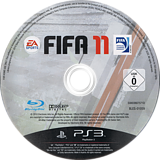 FIFA 11 PS3 disc (BLES01059)