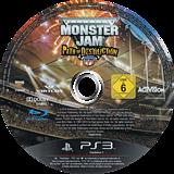 Monster Jam: Path of Destruction PS3 disc (BLES01079)
