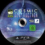 Ben 10: Ultimate Alien - Cosmic Destruction PS3 disc (BLES01110)