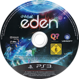 Child of Eden PS3 disc (BLES01114)