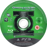 Green Lantern: Rise of the Manhunters PS3 disc (BLES01116)