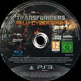Transformers: La Caída de Cybertron PS3 disc (BLES01153)