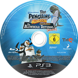 Los Pingüinos de Madagascar: El regreso del Dr. Espiráculo PS3 disc (BLES01219)