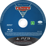 Cars 2: The Video Game PS3 disc (BLES01242)