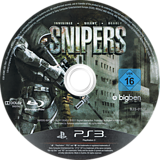 Snipers - Invisible, Silent, Deadly PS3 disc (BLES01327)