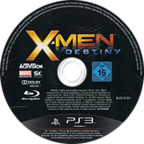 X-Men: Destiny PS3 disc (BLES01351)