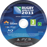 Rugby World Cup 2011 PS3 disc (BLES01358)
