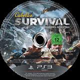 Cabela's Survival: Shadows of Katmai PS3 disc (BLES01412)