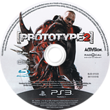 Prototype 2 PS3 disc (BLES01533)