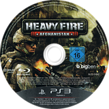Heavy Fire: Afghanistan PS3 disc (BLES01602)