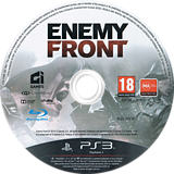 Enemy Front PS3 disc (BLES01654)