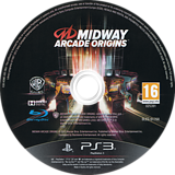 Midway Arcade Origins PS3 disc (BLES01768)
