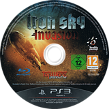 Iron Sky Invasion PS3 disc (BLES01786)