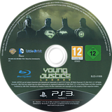 Young Justice: Legacy PS3 disc (BLES01808)