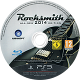 Rocksmith 2014 Edition PS3 disc (BLES01862)
