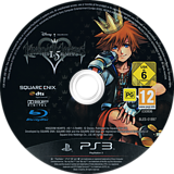Kingdom Hearts HD 1.5 ReMIX PS3 disc (BLES01897)