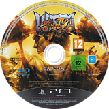 Ultra Street Fighter IV PS3 disc (BLES01900)