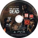 The Walking Dead (Game of the Year Edition) PS3 disc (BLES01975)