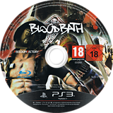 Bloodbath PS3 disc (BLES01988)