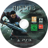 Risen 3: Titan Lords PS3 disc (BLES02010)