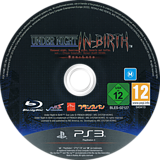 Under Night In-Birth Exe:Late PS3 disc (BLES02127)