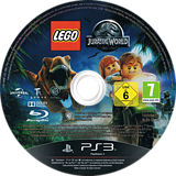 LEGO Jurassic World PS3 disc (BLES02132)