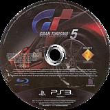 Gran Turismo 5 PS3 disc (BCUS98114)
