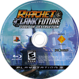 Ratchet & Clank: Future - Tools of Destruction PS3 disc (BCUS98127)