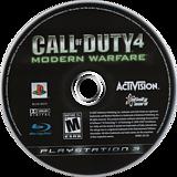 Call of Duty 4: Modern Warfare PS3 disc (BLUS30072)