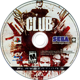 The Club PS3 disc (BLUS30108)