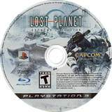 Lost Planet: Extreme Condition PS3 disc (BLUS30113)