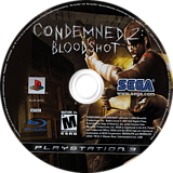 Condemned 2: Bloodshot PS3 disc (BLUS30115)
