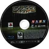 BioShock PS3 disc (BLUS30166)