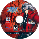 BlazBlue: Calamity Trigger PS3 disc (BLUS30392)