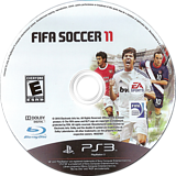 FIFA Soccer 11 PS3 disc (BLUS30630)